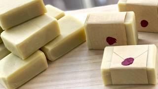 "Simple Homemade ""Bastille"" soap for babies"