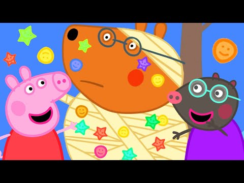 Peppa Pig English Episodes ⚽️Help! Peppa Pig! Teddy's Injured While Playing Football