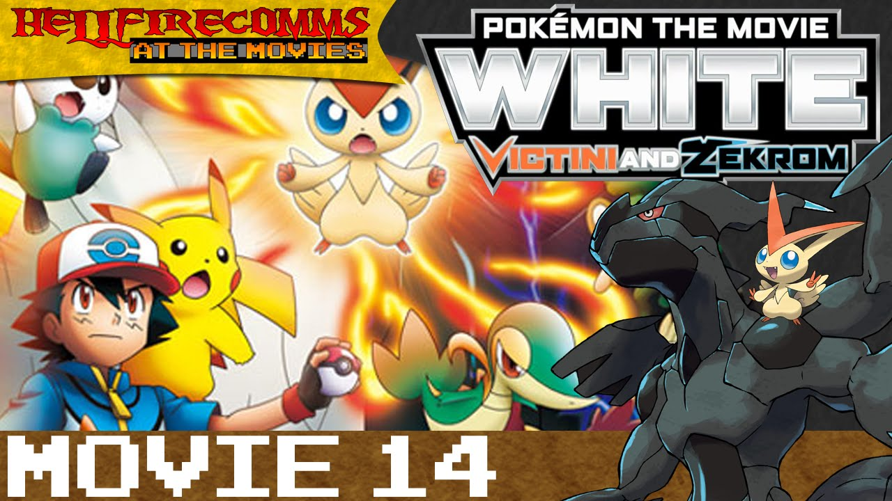 Pokemon The Movie White Victini And Zekrom Audio Commentary
