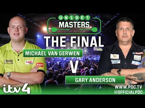 2017 Unibet Darts Masters Final van Gerwen vs Anderson