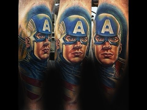 Captain America Tattoo Designs For Men HD 2017 HD HD