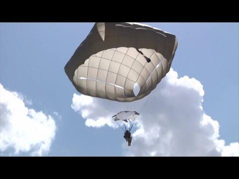 Paratrooper T-11 Parachute Jump Training