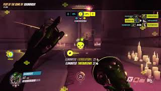 Overwatch Play Of The Game Lucio Nepal With Duo Duunboons 12-05-19 - Ssr 1445