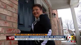 Gambar cover Edgewood considering ban on Airbnb's
