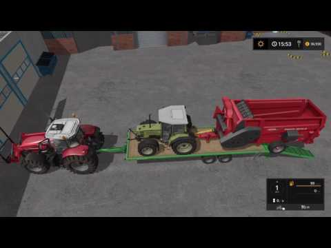 Farming simulator 2017 Sandy Bay part 3 [selling bales]