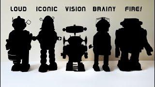 Five Wind Up Toy Robots (Part III)