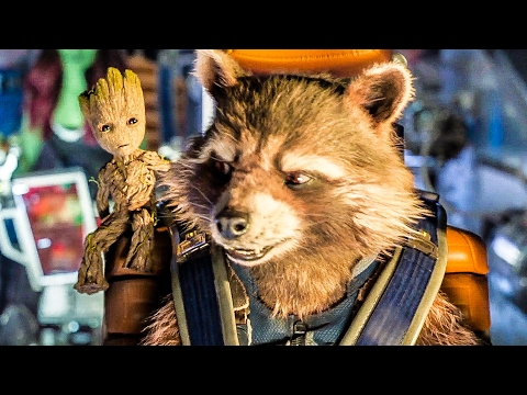 GUARDIANS OF THE GALAXY 2 'Space Chase' Movie    2017
