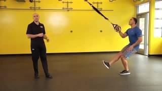 trx single arm single leg squat row