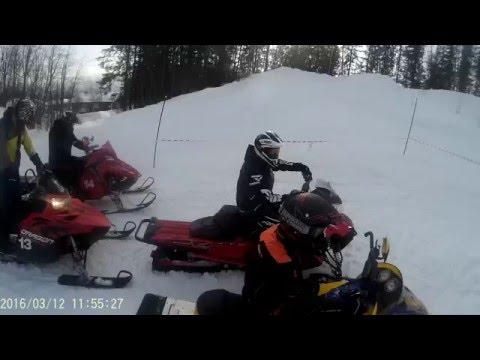 Team skiløft på mo i rana hillclimb