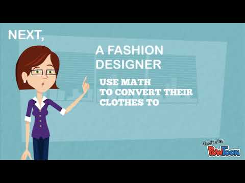 Maths In Fashion Designing D Youtube