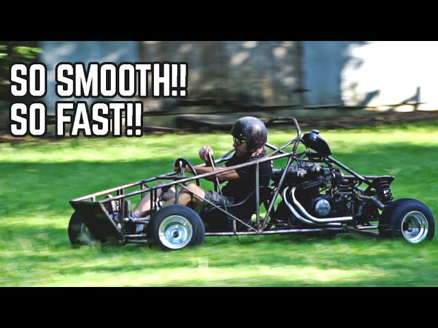 750cc Cross Kart FIRST DRIVE!