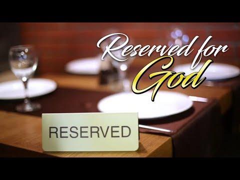 Bobbie Bonner - Daily Video Devotion DVD# 46 RESERVED FOR GOD