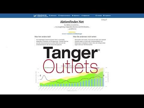 Tanger Factory Outlet Aktie Dividende