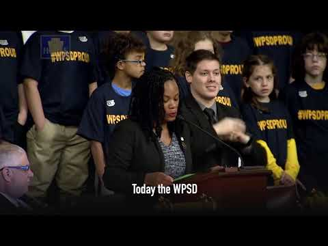 Lee Joined on House Floor by Western Pennsylvania School for the Deaf Students