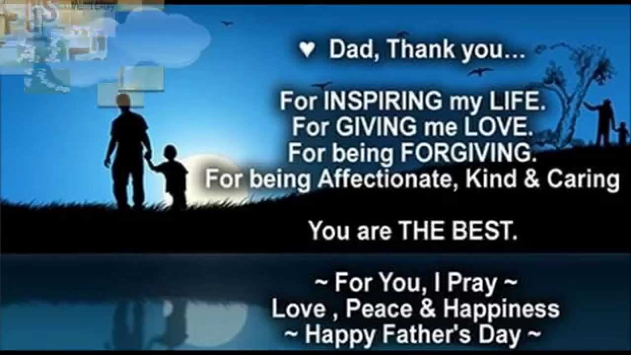 Happy father 39 s day best wishes to dad greetings quotes for Quotes for a father