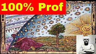 Земля плоская 100% научное доказательство