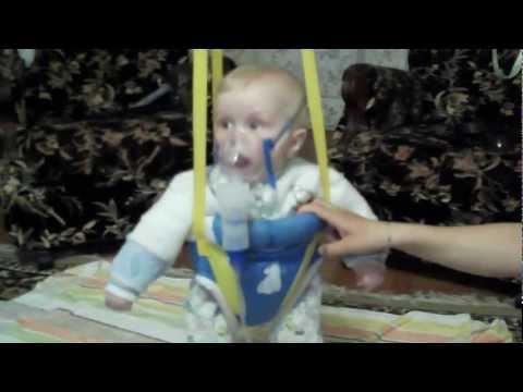 небулайзер ингалятор omron C28 тест драйв для ребенка.AVI
