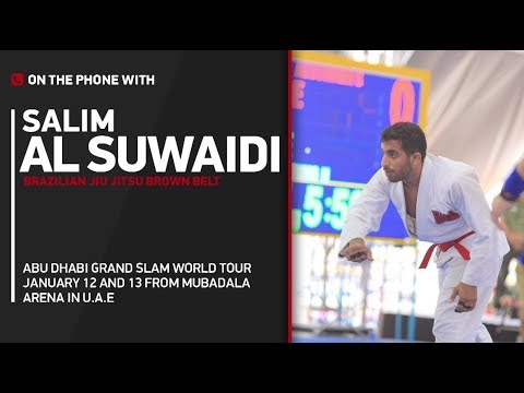 Abu Dhabi Jiu-Jitsu World Tour 2018: Salim Al Suwaidi - 'I'm Cautiously Optimistic' on My Success