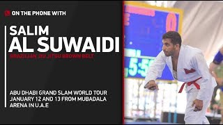 Abu Dhabi Jiu-Jitsu World Tour 2018: Salim Al Suwaidi - 'I'm Cautiously Optimistic' on My Success