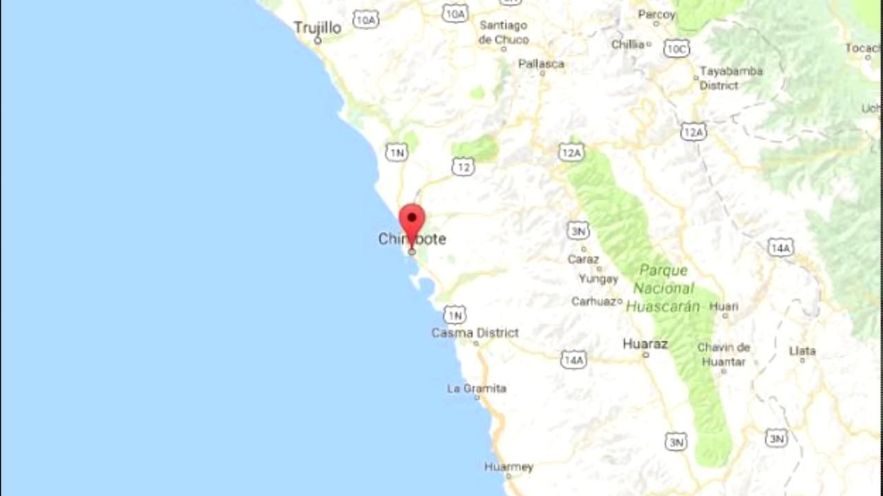 Peru News 41 earthquake registers in Chimbote YouTube