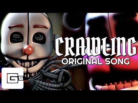 "FNAF SISTER LOCATION SONG ▶ ""Crawling"" [SFM] (ft. Dolvondo) | CG5"