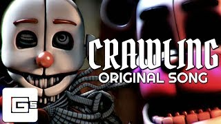 "FNAF SISTER LOCATION SONG ▶ ""Crawling"" [SFM] (ft. Dolvondo) 