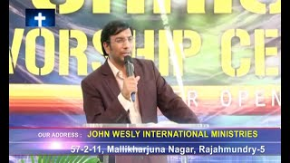Priest Of The Mosr High God|Dr. John Wesly|SubhavaarthA