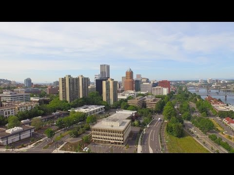 Portland Skyline | 4k