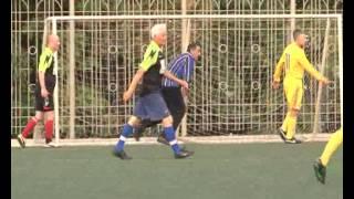 Ветеранский футбол 8х8, юбилей Зубкова