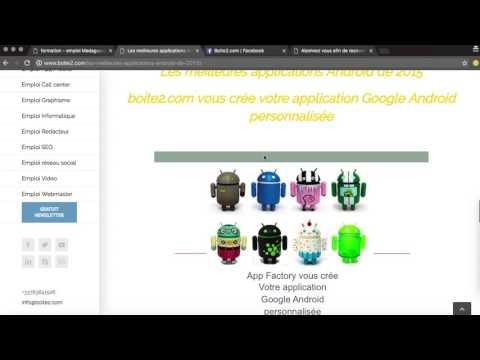 Formation gratuite Web & App BOITE2.com