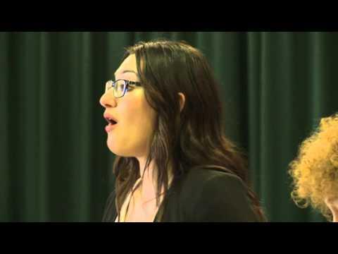 2015: Rebecca Gulinello, soprano. MasterClass with Linnhe Robertson and David Harper