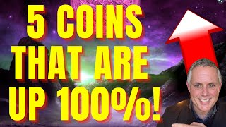 5 ALTCOINS THAT ARE UP 100% IN THE LAST WEEK! BEST ALTCOINS TO BUY NOW!