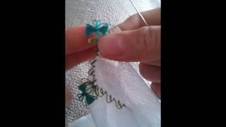 İğne oyası modelleri 1 kelebek fiyonk modeli