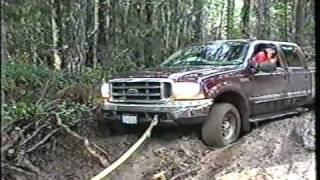 4x4 Thrash your stock rig and Mudding day Browns Camp Oregon Part 1