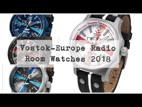 2017 Radio Room Russian Movt watches from Vostok-Europe