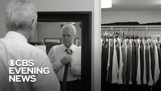 "Alex Trebek's ""Jeopardy!"" wardrobe donated to homeless shelters and formerly incarcerated men"