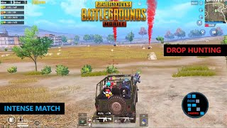 PUBG MOBILE | DROP HUNTING INTENSE MATCH CHICKEN DINNER (OLD RECORDING)