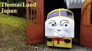 Thomas and Friends  Trains James Percy  at Thomas Land Japan