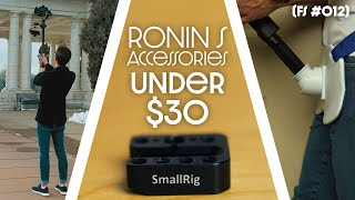 3 Most Useful Ronin S Accessories Under $30