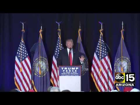 FULL: Donald Trump campaign event from New Hampshire