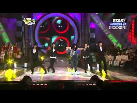 BEAST & SinBgSunn  ChangeHyunA Stars Dance Battle 2010