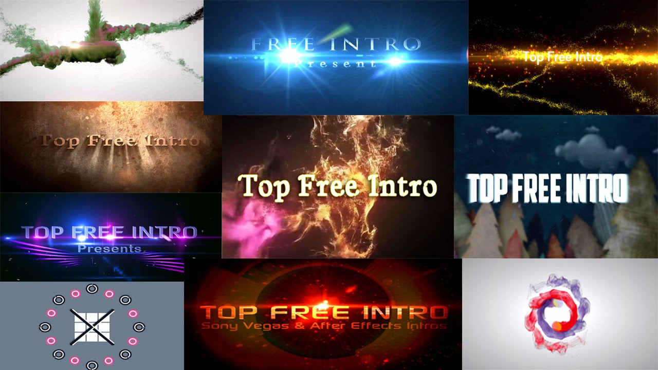 top 10 intro template 2016 sony vegas pro 13 download free + no, Powerpoint templates