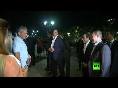 شاهد.. بوتين يسأل مواطنين روس عن مصر أمام السيسي  - نشر قبل 3 ساعة