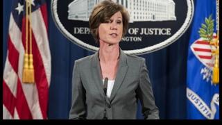 President Trump Firess Acting Attorney General Yates