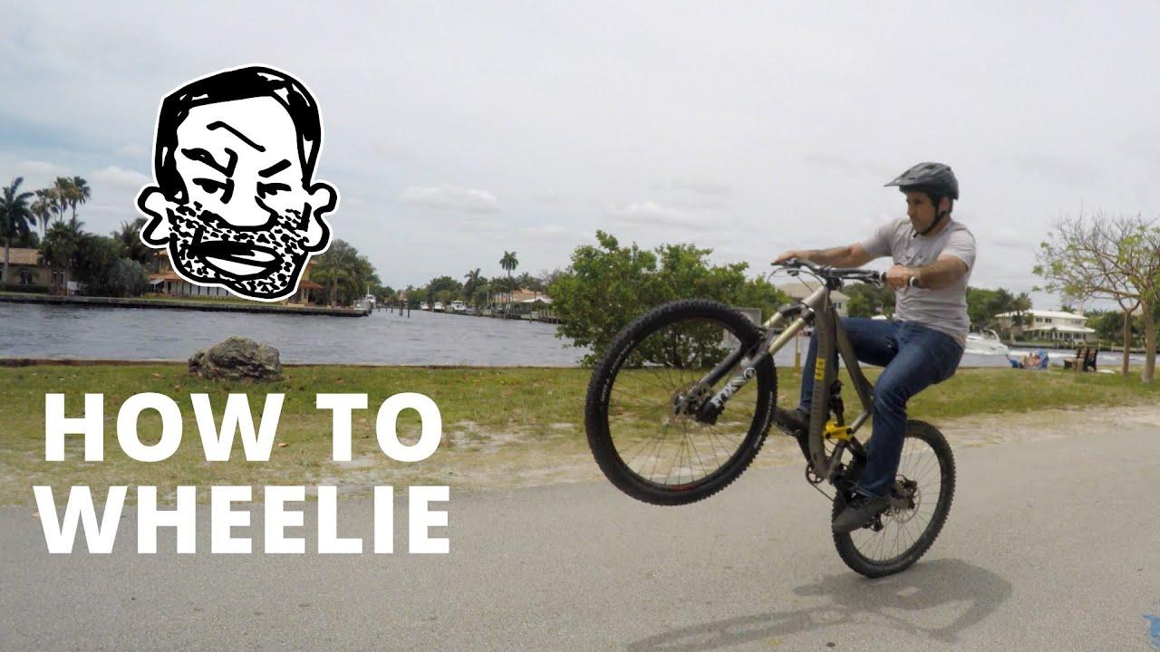 How to Wheelie on a Mountain Bike