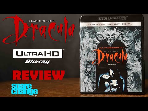 Bram Stoker's Dracula 4K Bluray Review and Unboxing Dolby Atmos