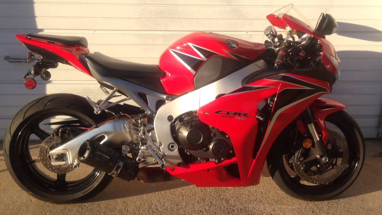Sold 2011 Honda Cbr1000rr Www Landlperformance Com