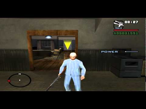 GTA San Andreas character changer MOD
