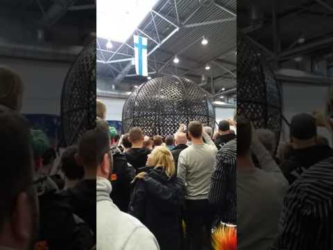 Globe of speed motoread messe leipzig 2017