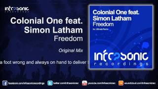 Colonial One feat. Simon Latham - Freedom (Original Mix) [Infrasonic]